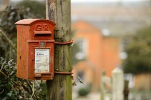 GR_post_box_at_All_Hallows