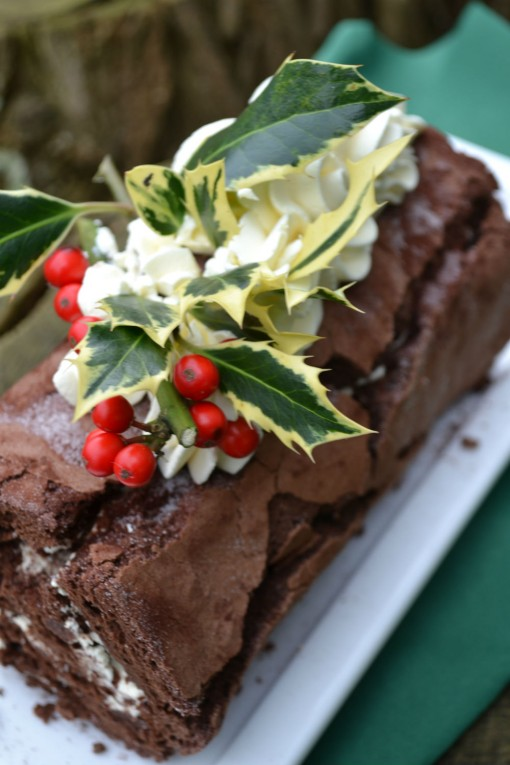 Chocolate Yule Log Gluten Free