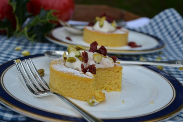 clementine & cranberry cakes