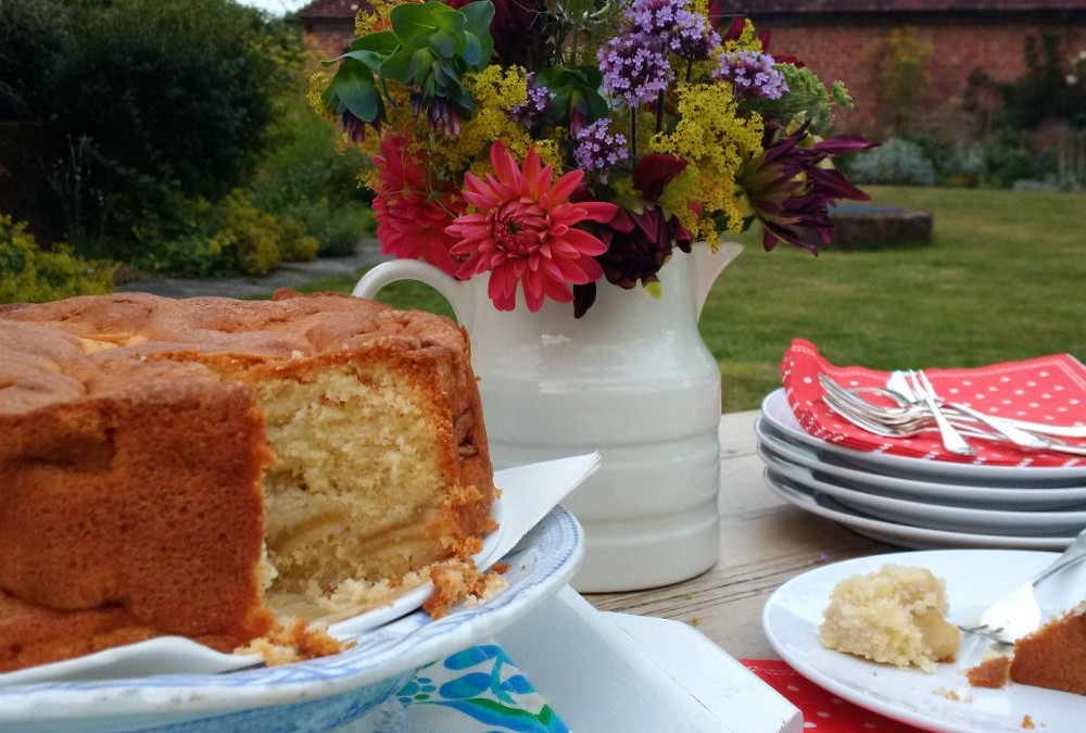 Recipe Warm From The Aga Dorset Apple Cake All Hallows Farmhouse