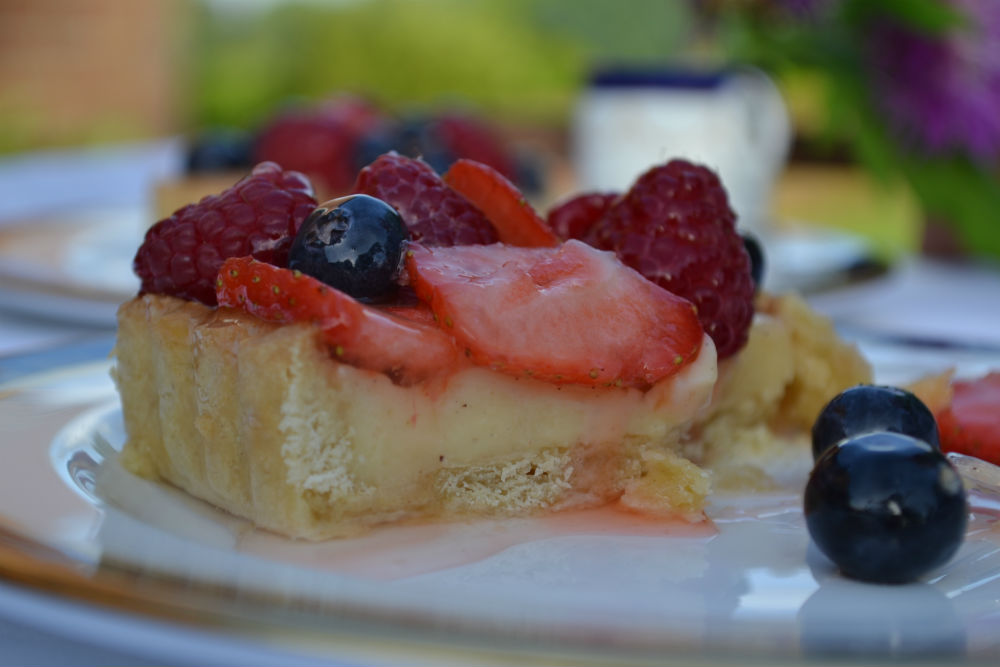 RECIPE: Summer Fruit Tart