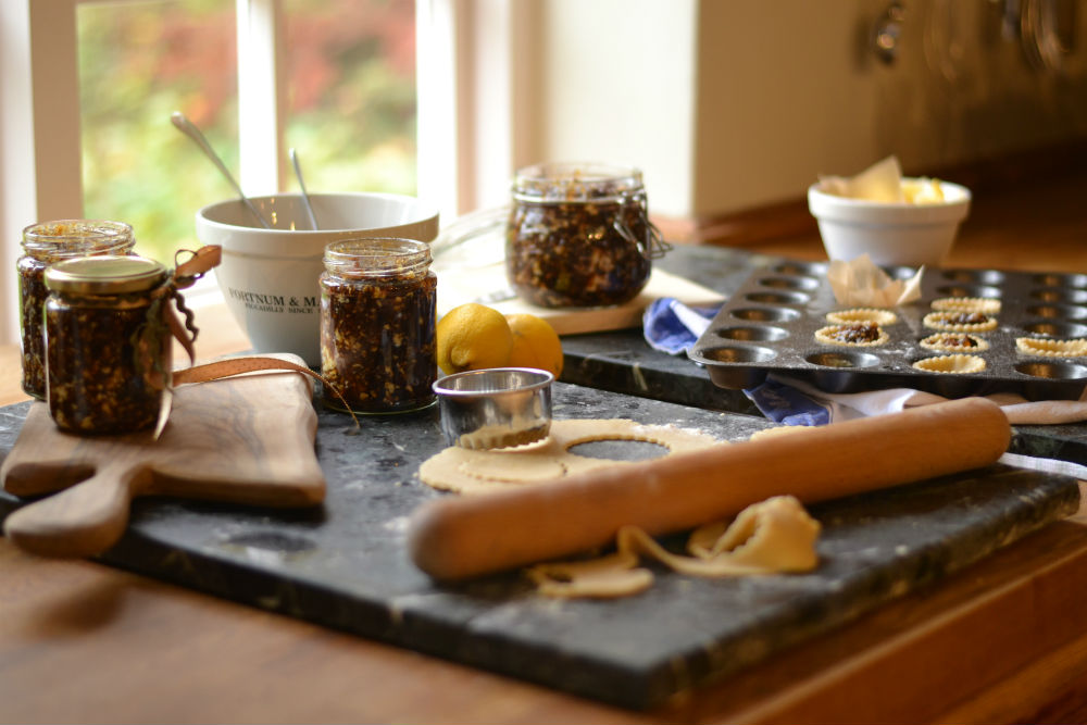 Stir up some homemade mincemeat  & a plum pudding this Sunday