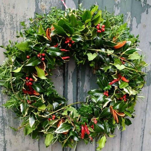 Festive Wreath Workshop Saturday 7th December 2019 All Hallows