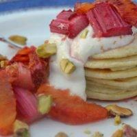 forced_rhubarb_blood_orange_pancakes