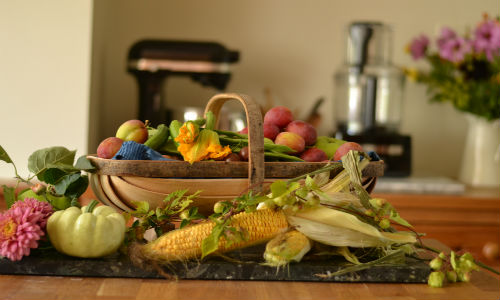 Early Autumn Garden Produce