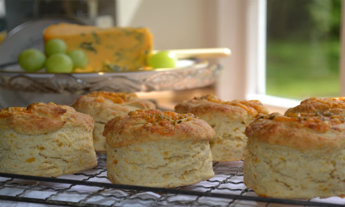 Blue Cheese Scones