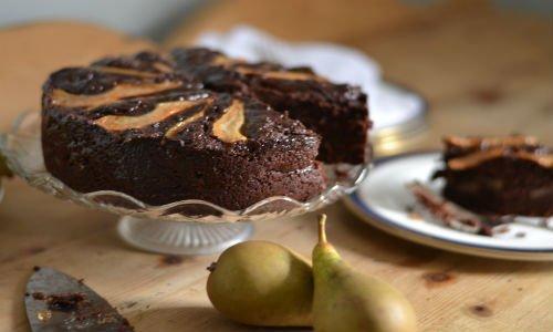 RECIPE: Cacao, Spelt & Pear Cake