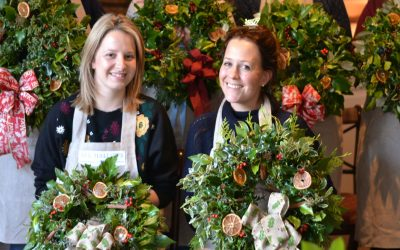 WIN a festive wreath workshop for yourself & a friend.
