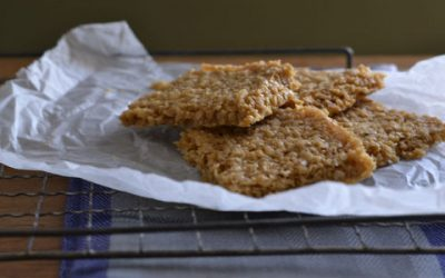 STORE CUPBOARD RECIPE: Oat slice
