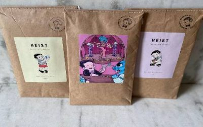 WIN a selection of HEIST chocolates this weekend.