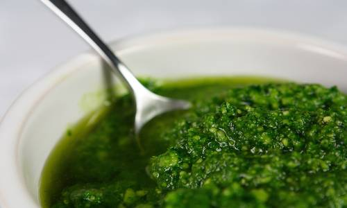 How to cook wild garlic or ransoms.